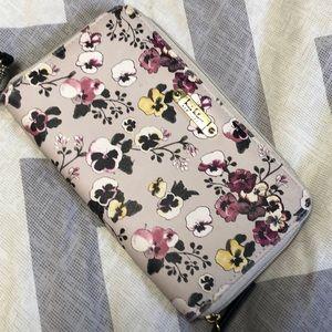 Floral Wallet- EUC